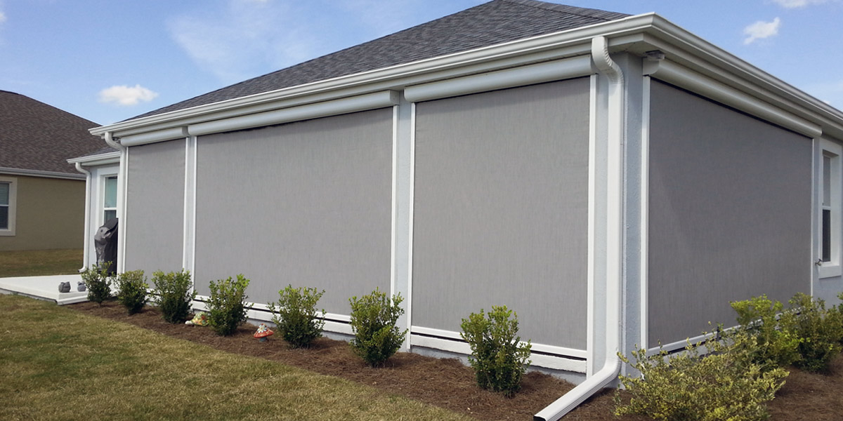 Outdoor Sun Shades For Privacy